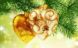 Auguri di Natale romantici