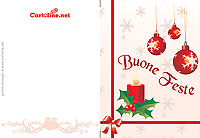 Cartoline Di Natale Da Stampare.Biglietti E Chiudipacco Di Natale Da Stampare Gratis