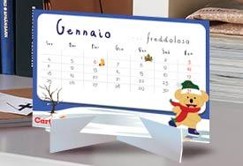 Calendario 2016 da tavolo gratis