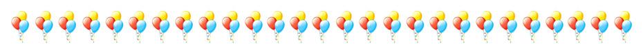Palloncini per compleanno per bambini