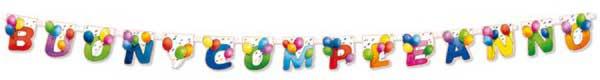 Festone di Buon Compleanno