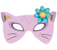 Maschera di Carnevale Gatto