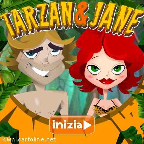 Tarzan Jane E Il Giorno Della Donna 8 Marzo Cartolinenet