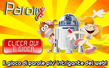 Parolix: Gioco di parole aperto a tutti dove metti alla prova la tua conoscenza della lingua italiana, ma anche la tua cultura