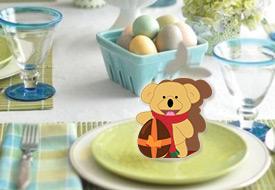 Segnaposto di Pasqua di Cartoline.net