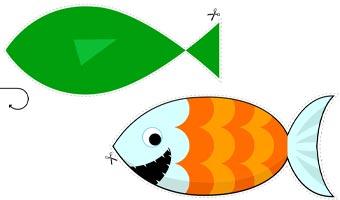 Sagoma del Pesce d'Aprile di Cartoline.net