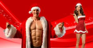 Sexy auguri di Natale