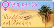 Test per LEI Viaggio nel deserto