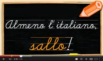 Video Almeno l'italiano sallo