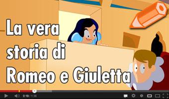 La vera storia di Romeo e Giulietta - Favole in chiave ironica