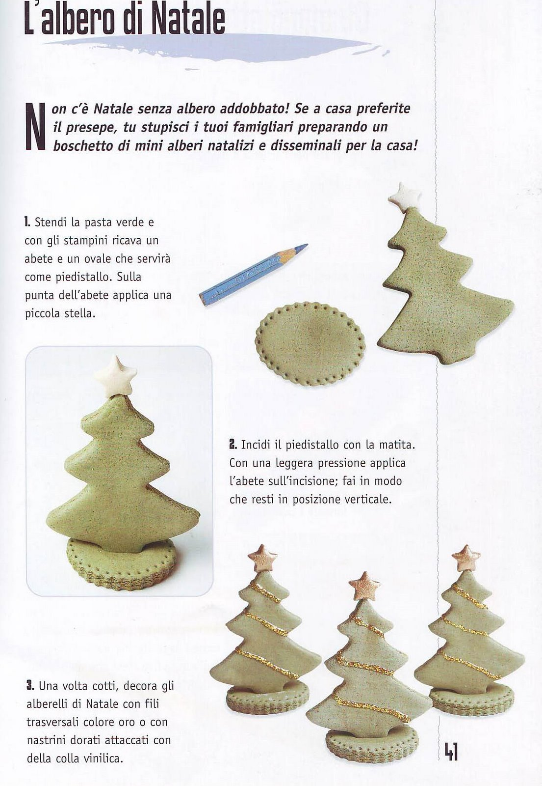 Super Decorazioni di Natale in Pasta di Sale - Cartoline.net MX35