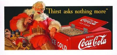 Babbo natale della Coca Cola