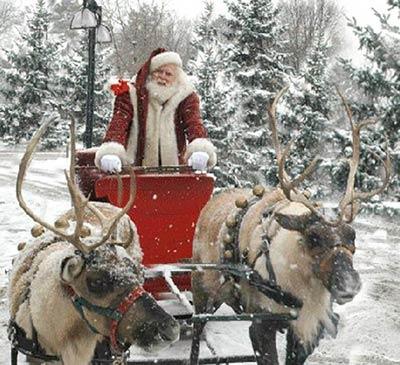 Foto Vere Di Babbo Natale.Babbo Natale Cartoline Net