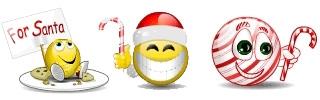Emoticons di Natale