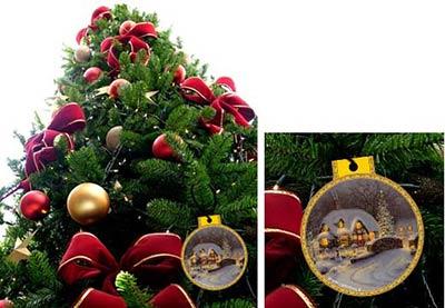 Palle di Natale da appendere all'albero, stampale gratis!
