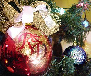 Personalizzare le sfere dell'albero di Natale