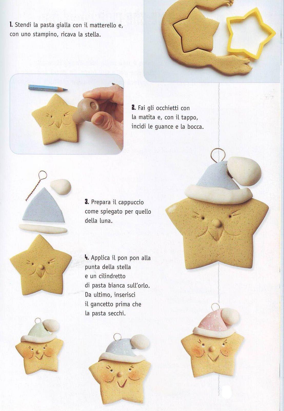 Segnaposto Natalizi Pasta Di Sale.Decorazioni Di Natale In Pasta Di Sale Cartoline Net