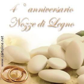 frasi anniversario matrimonio 4 anni