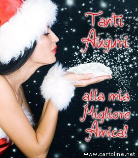 Frasi Auguri Natale Amica.Buon Natale Amica Mia