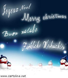 Auguri Buon Natale In Tedesco.Auguri In Italiano Inglese Francese Tedesco