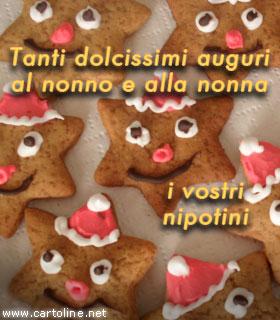 Auguri Di Buon Natale Per I Nipotini.Auguri Di Natale Ai Nonni Dai Nipoti