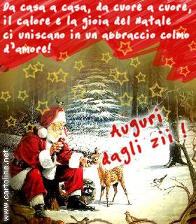 Auguri Di Natale Al Nipotino.Buon Natale Dagli Zii