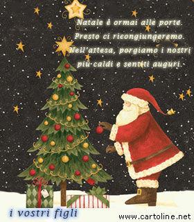 Frasi Di Natale Per Figli.Buon Natale Ai Genitori Dai Figli
