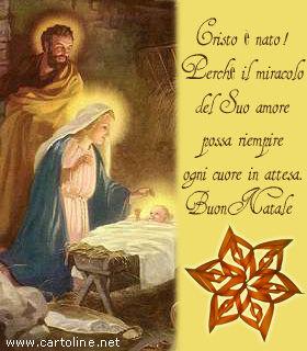 Frasi Natale Religiose.Auguri Religiosi Con Nativita