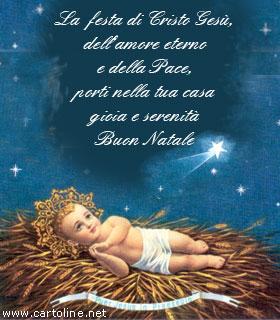 Auguri Di Buon Natale Religiosi.Buon Natale Gesu E Nato