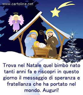 Auguri Di Buon Natale Religiosi.Auguri Religiosi Per Natale