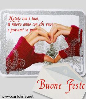 Biglietti Di Natale Amore.Biglietto Di Auguri Natalizi Per Coppie