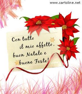 Biglietto di buone feste natalizie for Cartoline di auguri per natale