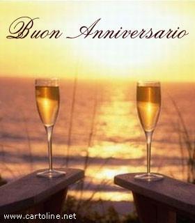 Brindisi di buon anniversario for Auguri di buon anniversario