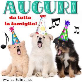 Auguri Di Buon Compleanno Con Animali