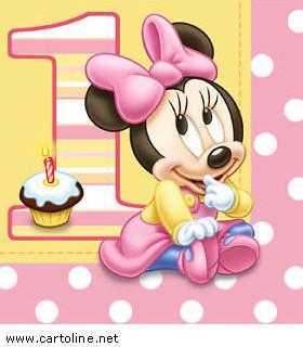 Primo Compleanno Con Baby Minnie