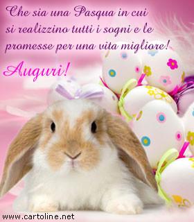 Coniglio pasquale per realizzare i tuoi sogni - Lettere stampabili del coniglietto di pasqua ...