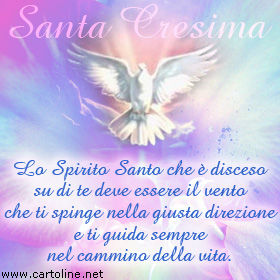 Frase Per La Santa Cresima