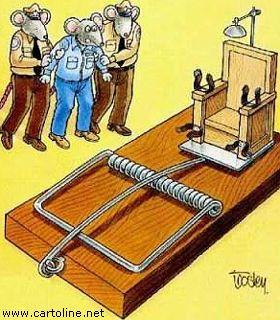 Ironica esecuzione capitale for Morte con sedia elettrica