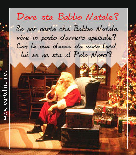 Frasi Di Natale In Rima.Filastrocca Di Natale Dove Sta Babbo Natale