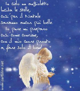 Filastrocca con l 39 angioletto di natale for Le piu belle mete natalizie