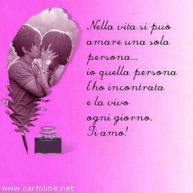 Frase Ti Amo Amore Mio