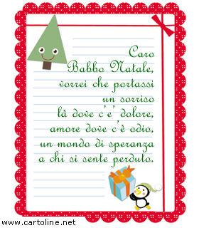 Immagini Di Lettere Per Babbo Natale.Lettera Di Babbo Natale Che Dona Un Sorriso