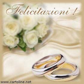 Cartoline Auguri Matrimonio : Formali congratulazioni di matrimonio