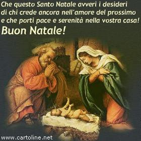 Immagini Auguri Di Natale Religiosi.Messaggio Di Pace Per Natale
