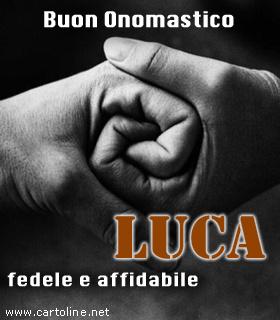 Carattere Del Nome Luca