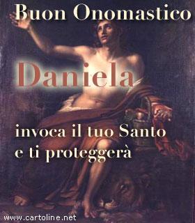 Auguri D Onomastico Col Santo Protettore Di Daniela