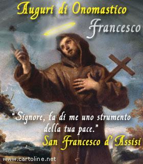 San Francesco Dassisi Per Lonomastico