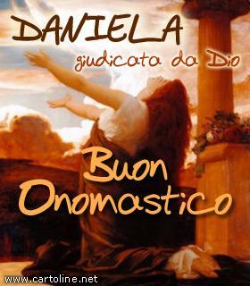 Onomastico di Daniela col significato del nome