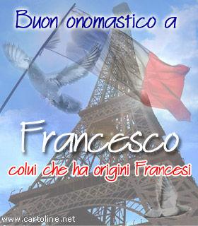 Auguri Di Onomastico Per Francesco