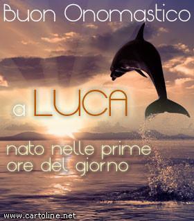 Buon Onomastico A Luca